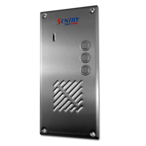 Sentry door station with 3 button intercom
