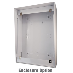 CST vertical stainless steel enclosure for customer service telephones enclosure