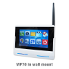 The VIP70 7inch tablet that interfaces with IP Intercom door station