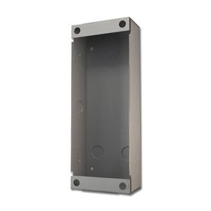 vertical flush-mount wall box enclosure for door station