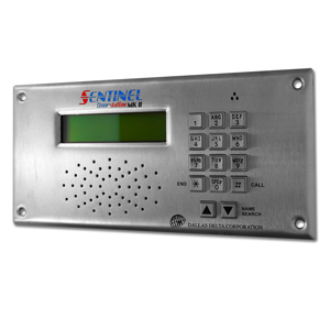 Sentinel door station with keypad