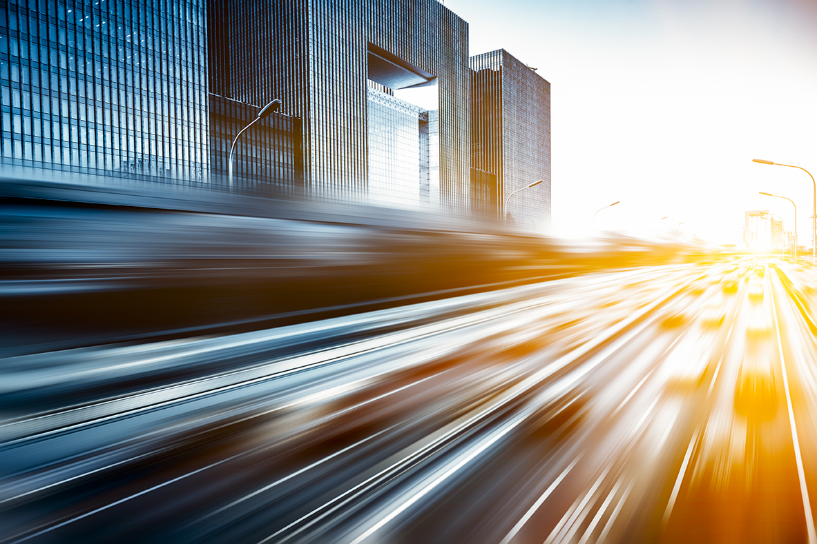 Motion Blur Image Of Traffic In Beijing China Dallas Delta